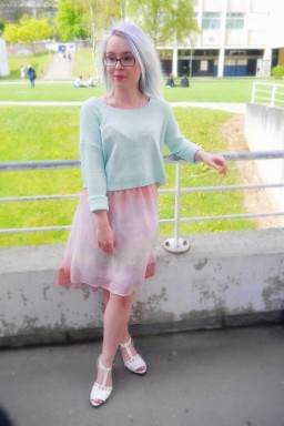 <3 The Perfect Pastel look for spring and summer <3 Le look tout en ton pastel, parfait pour le printemps et l'été