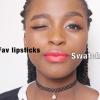 [Travel] Summer never ends My 8 fav lipsticks SWATCH video